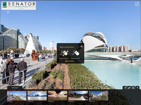 Senator Parque Central - Visita Virtual